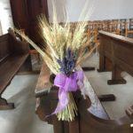 Décor bancs d'église