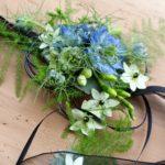 Ceinture avec ornement floraux